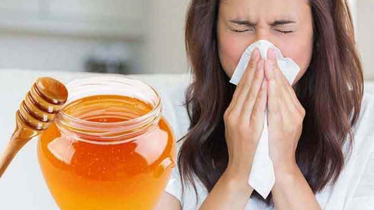 κρυολόγημα και μέλι