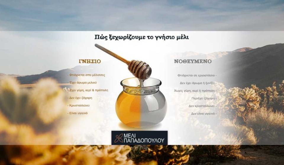 Πώς ξεχωρίζουμε το γνήσιο μέλι